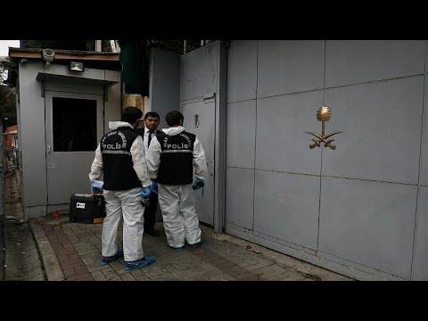 محققون جنائيون أتراك يغادرون مبنى القنصلية السعودية في اسطنبول…  - نشر قبل 2 ساعة