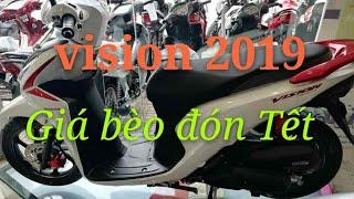 Trên tay Honda Vision 2019 - cập nhật giá vison 2019-Honda Vision | Ngố Nguyễn