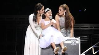 Vina Morales with daughter Ceana and sister Shaina Magdayao