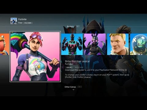 Download How To Get New Fortnite Avatars Free Ps4 New Avatars