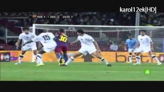 Thiago Alcántara 2011 - F.C. Barcelona |HD|
