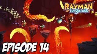 Rayman legends - La lave qui brûle | Episode 14 Thumbnail