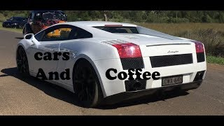 Cars And Coffee November (loud revs, accelerations, burnouts!)