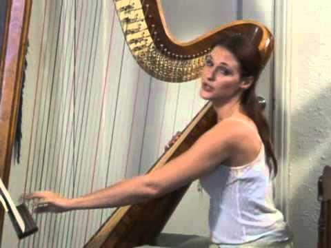 Playing A Harp: Glissandos