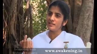 Awakening with Brahma Kumaris-One should accpet his mistakes-Suresh Oberoi with BK Shivani EP-25