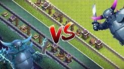 SUPER PEKKA vs PEKKA! ☆ Clash of Clans ☆ CoC