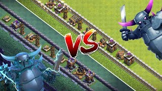SUPER PEKKA vs PEKKA! ☆ Clash of Clans ☆ CoC