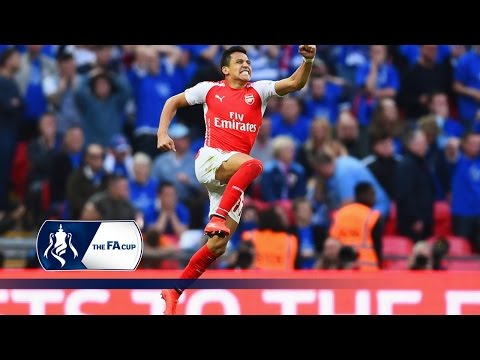 Arsenal's road to the FA Cup Final  Goals & Highlights