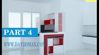 Học 3d Sketchup 33 P4 Vẽ 1 Tủ Bếp Learning Study 3d Draw A Kitchen Cabinet