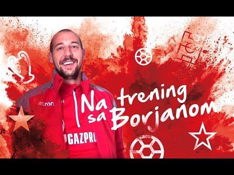 NA TRENING SA Milanom Borjanom