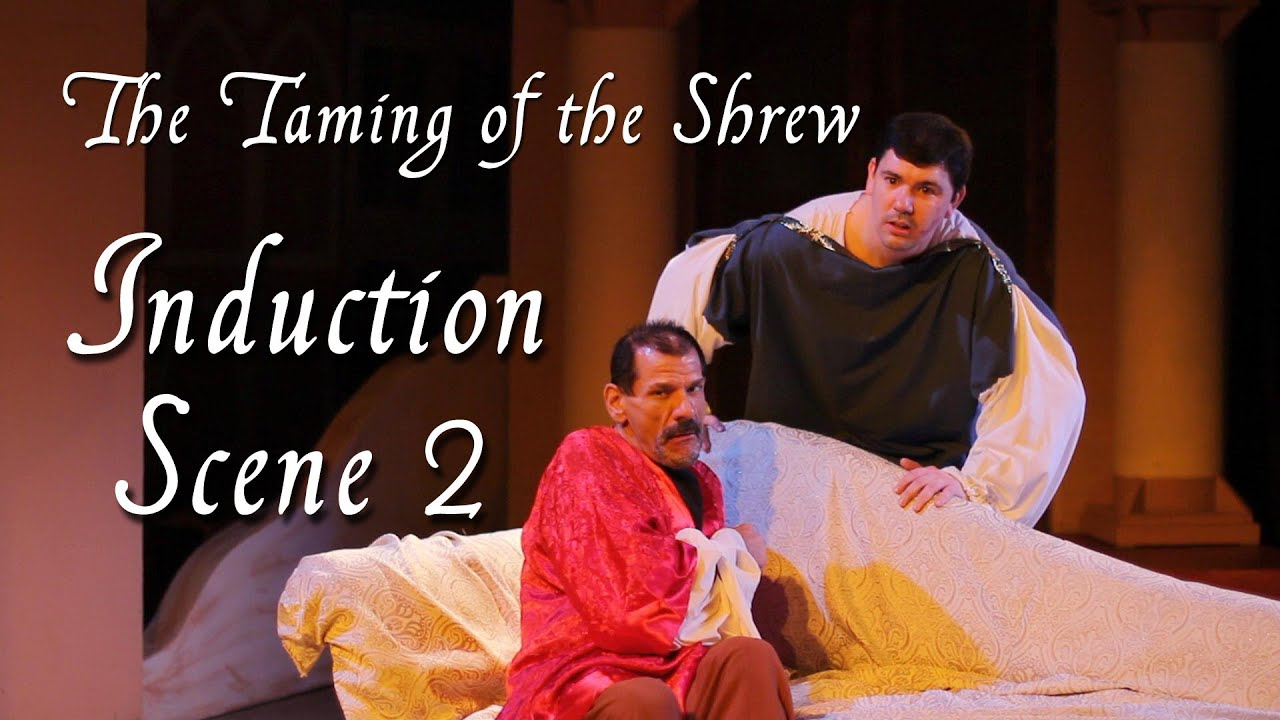 induction in taming of the shrew The taming of the shrew induction scene i william shakespeare 1914 the  oxford shakespeare.