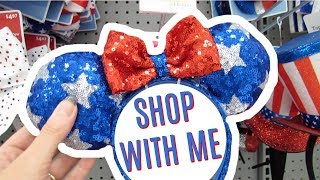 WALMART SHOP WITH ME | 4TH OF JULY DECOR