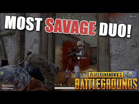BEST PUBG DUO ON XBOX ONE! (SAVAGE PUBG GAMEPLAY WITH ITSREAL85 & DYT GUTTA937)