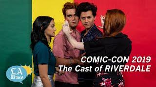 Cast of Riverdale visits the L.A. Times Studio