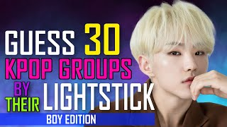 [KPOP GAME]  CAN YOU GUESS 30 KPOP GROUPS BY THEIR LIGHTSTICK