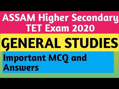Environment  Assam Higher secondary TET Exam 2020  General Studies  Environmental science