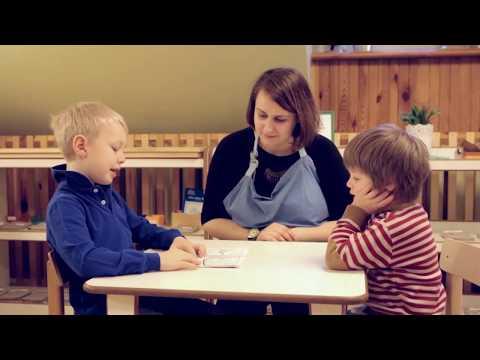 How we spend our day at Vilnius Montessori Pre-School