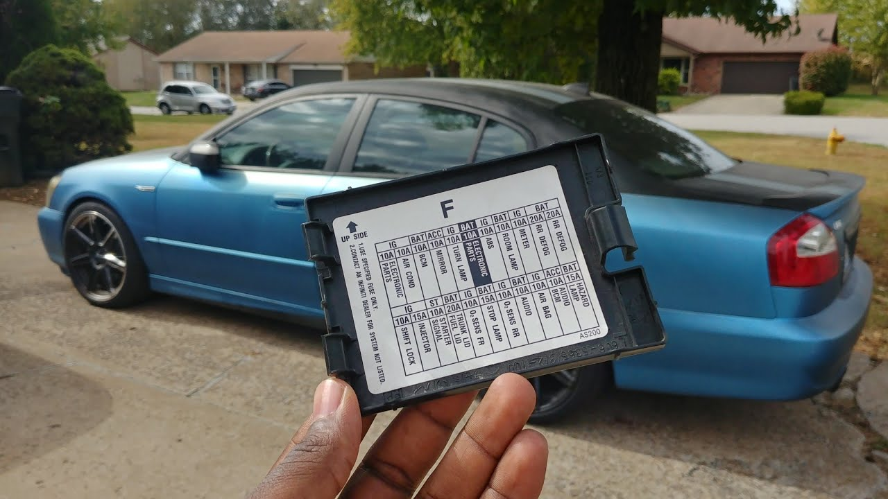 2002 Q45 Major Fuses Relays And Modules And Their Locations Nissan Forum Nissan Forums