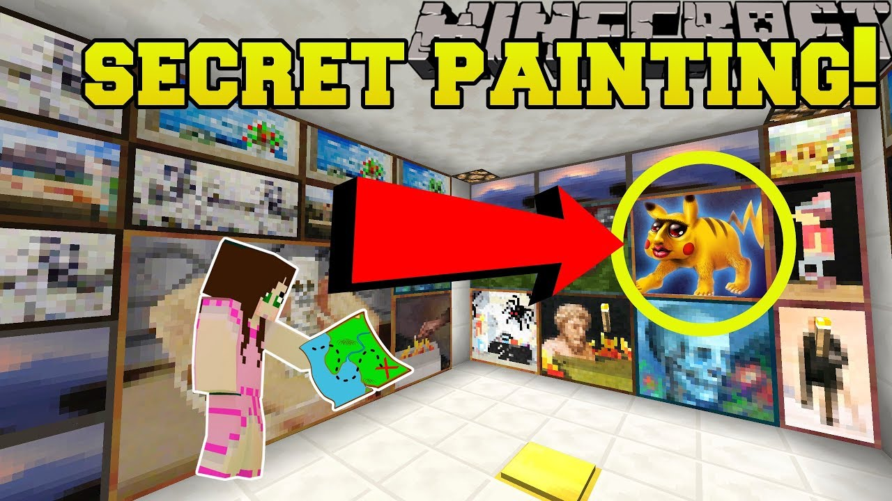how to add custom paintings to minecraft