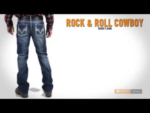 Rock & Roll Cowboy Raised V Jeans - Slim Fit, Bootcut (For Men)