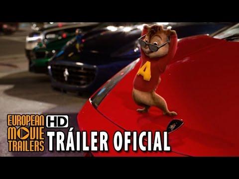 Alvin Y Las Ardillas: Fiesta Sobre Ruedas Tráiler Oficial En Español (2016) HD
