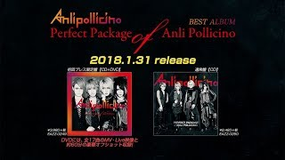Anli Pollicino BEST ALBUM「Perfect Package of Anli Pollicino」発売告知 全曲視聴動画 thumbnail