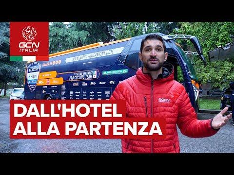 Vivere il pre tappa | Nippo Fantini al Giro d'Italia
