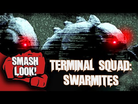 Defending Against The HellHounds Of Space In Terminal Squad: Swarmites - Smash Look!
