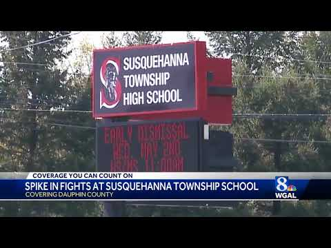 Spike in fights at Susquehanna Township High School