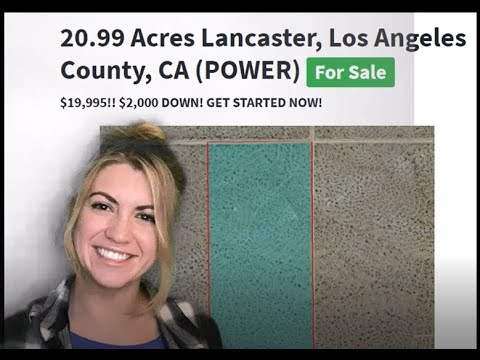 20.99 Acre Lancaster Property in Los Angeles County