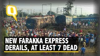 7 Dead After 9 Coaches of Delhi-Bound New Farakka Express Derailed in Raebareli | The Quint
