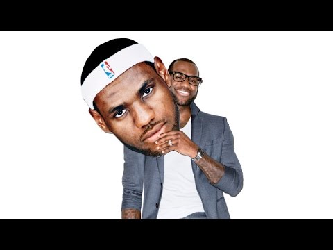 Behind the Scenes of LeBron James's GQ Cover Shoot