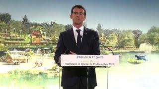 Valls lance et défend le grand chantier des Villages Nature