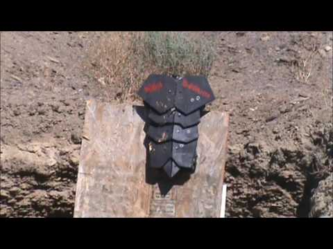 Homemade Body Armor Test 2