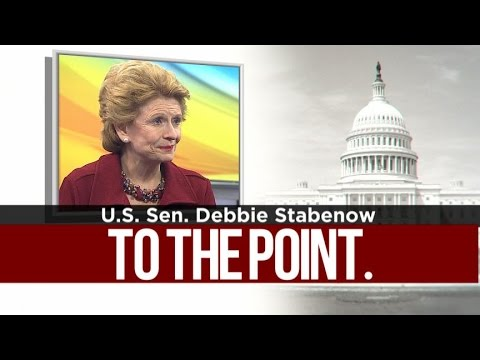 To The Point: U.S. Sen. Debbie Stabenow