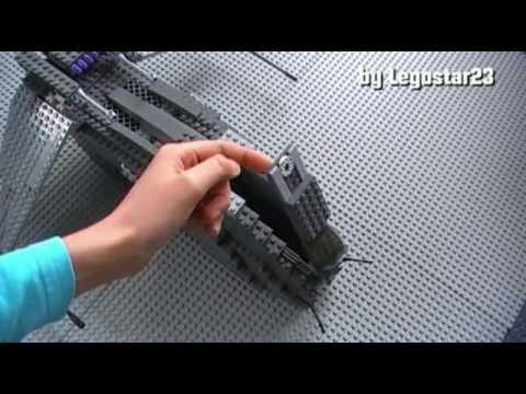 lego star wars custom raumschiffe german youtube. Black Bedroom Furniture Sets. Home Design Ideas