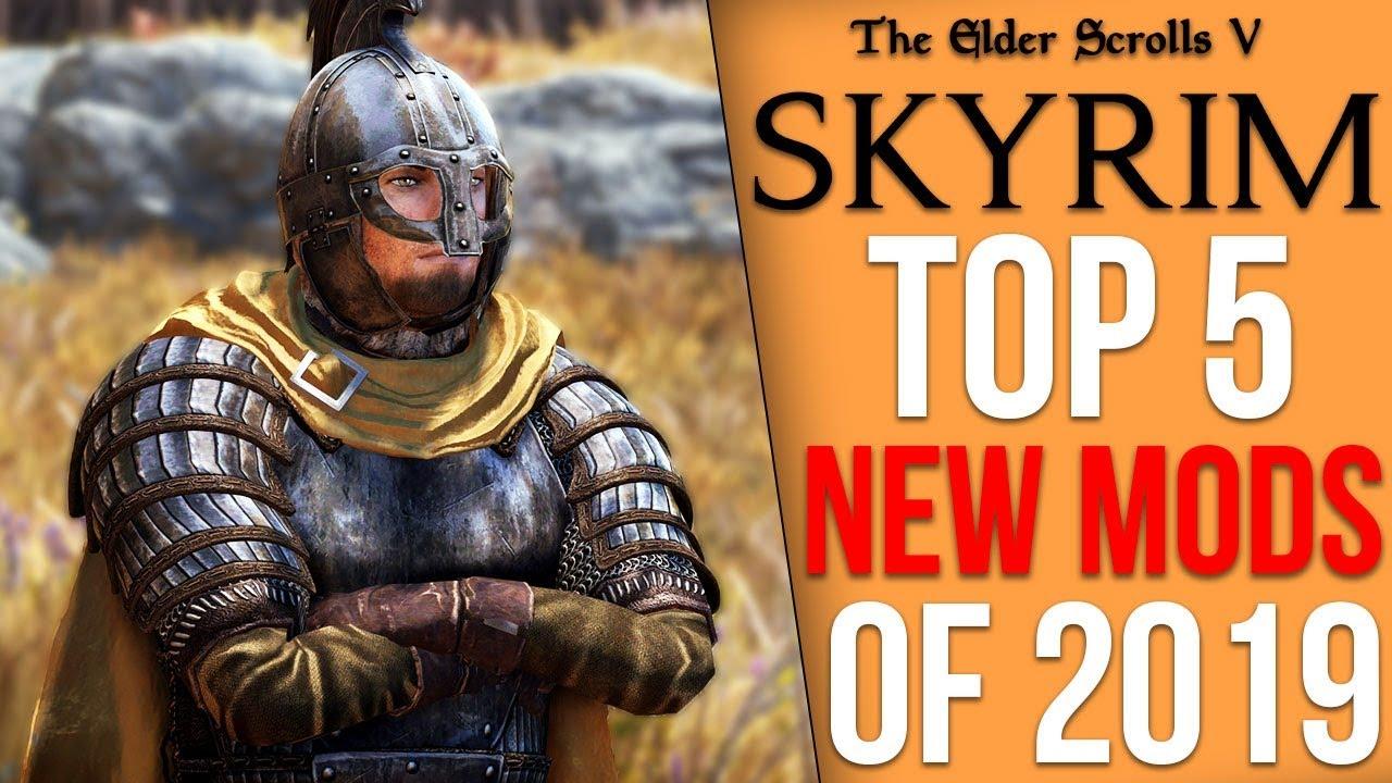The Top 5 Skyrim Mods of 2019 thumbnail