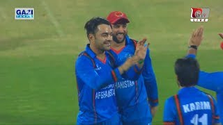 Winning Moments of Afghanistan Against Bangladesh 3-0 T20i Series 2018