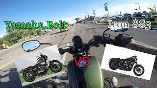 Yamaha Bolt Vs Iron 883 Which one should you buy?