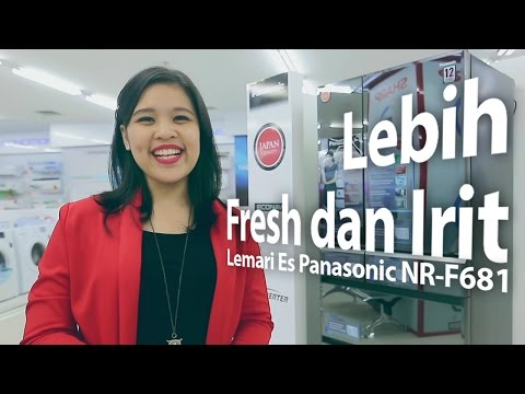 Lebih Fresh dan Irit Pakai Lemari Es Panasonic!