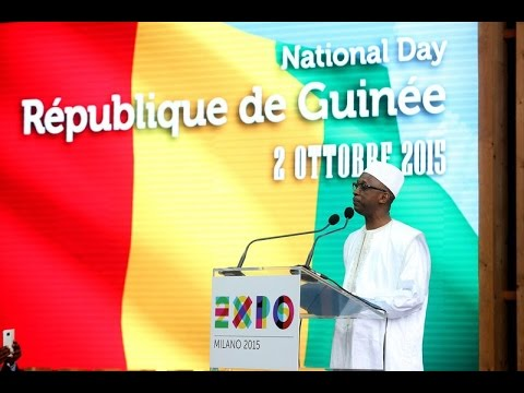 Expo Milano 2015 National Day Repubblica di Guinea
