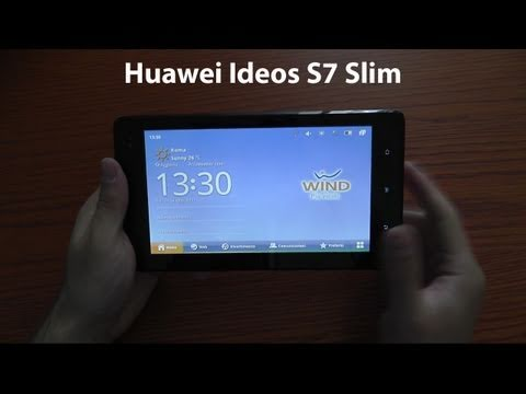 Huawei Ideos S7 Slim unboxing