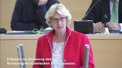 """Anita Klahn zu TOP 2 """"Änderung des Schleswig-Holsteinischen Schulgesetz"""""""