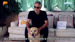 Yulin, Bocelli against dog meat consumption. English subtitles