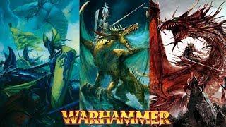 Dragons in Warhammer Fantasy Lore - Total War Warhammer 2