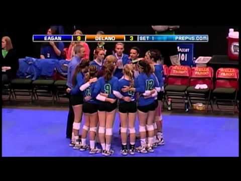 2013 MSHSL state volleyball tournament, class AAA final: Eagan vs. Delano