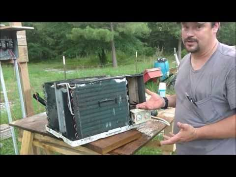 How to clean window AC unit