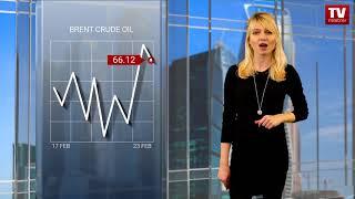 InstaForex tv news: EIA delivers upbeat US supply data  (23.02.2018)