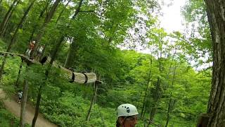 Treetop Trekking Horseshoe Valley Adventure Park Yellow Course
