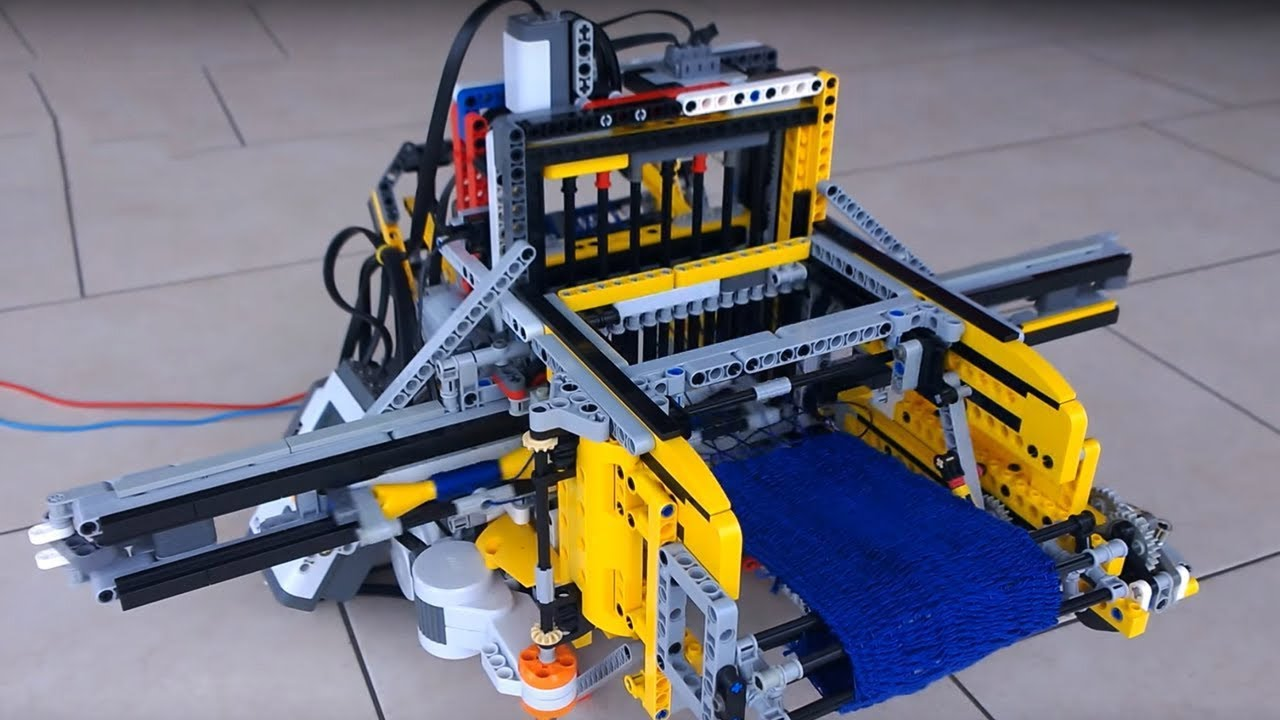 Mainan Sultan 8 Mesin Yang Terbuat Dari Lego Youtube